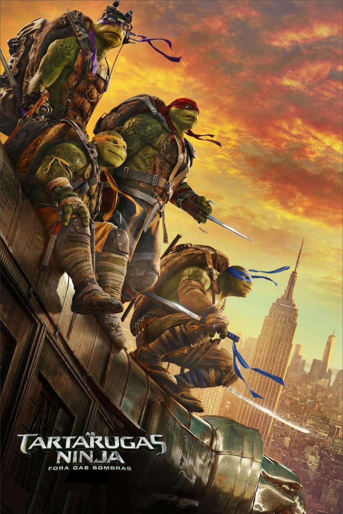 capa As Tartarugas Ninja: Fora das Sombras