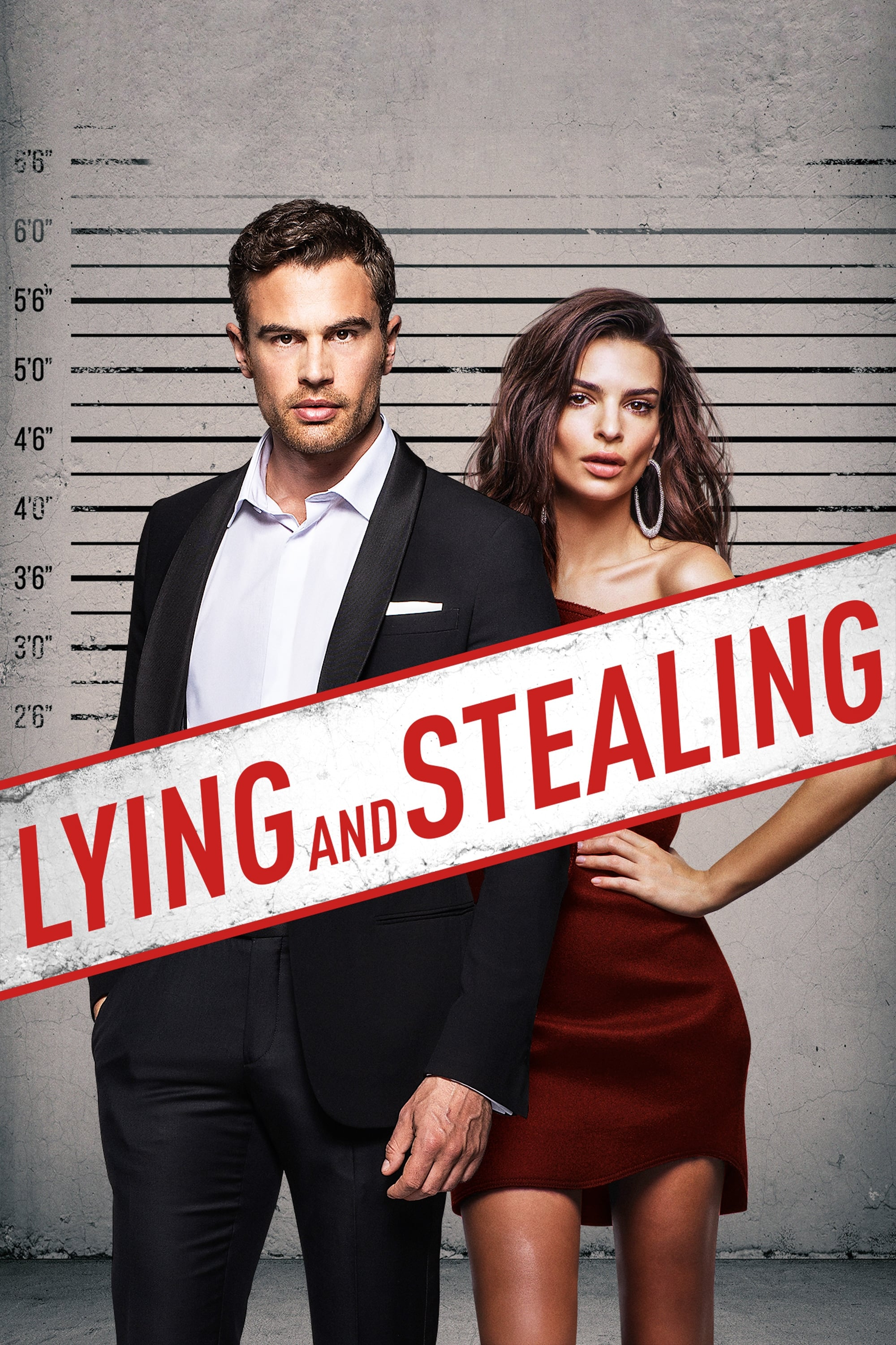 Lying and Stealing 2019 hollywood crime comedy