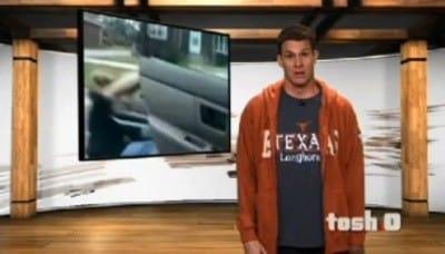 Tosh.0 Season 3 :Episode 28  Face Bumper Smash