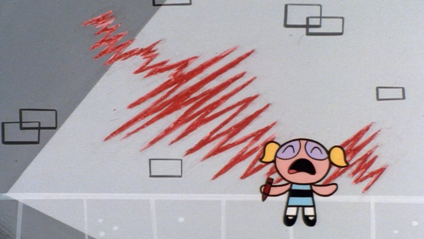 The Powerpuff Girls Season 1 :Episode 22  Mime for a Change