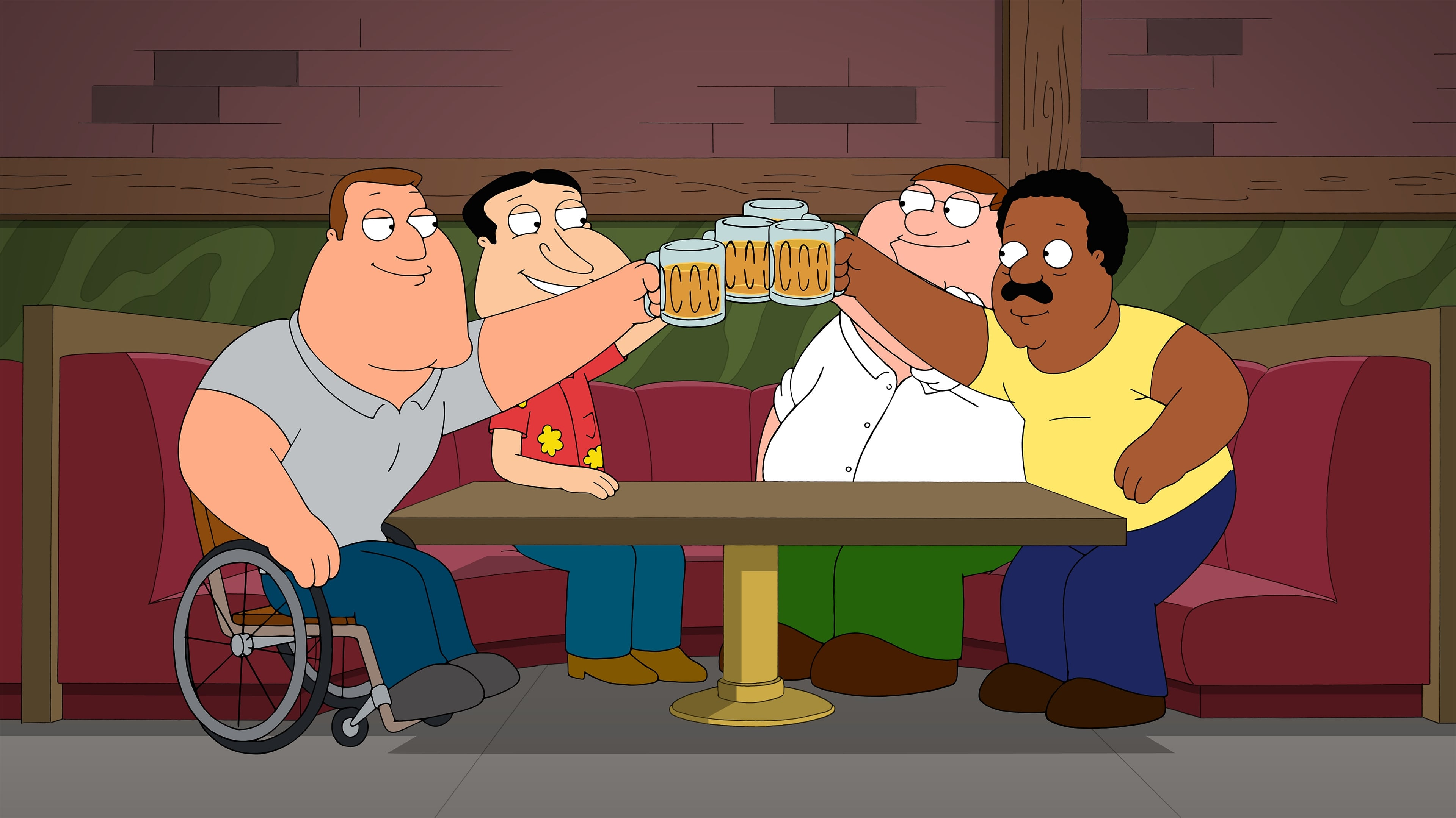Family Guy Season 12 :Episode 20  He's Bla-ack