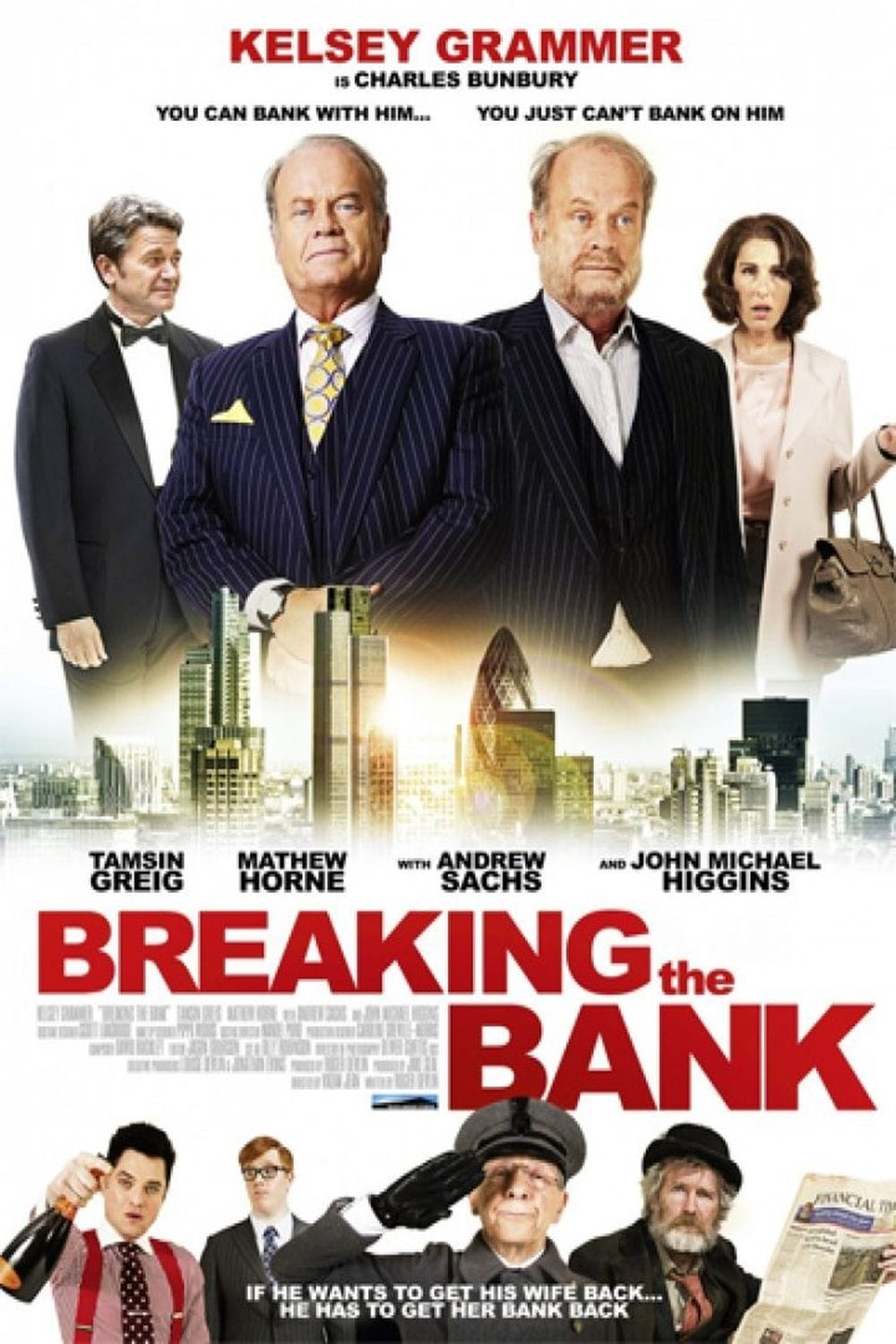 Póster Breaking the Bank
