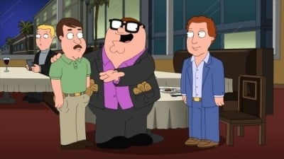Family Guy Season 10 :Episode 13  Tom Tucker: The Man and His Dream