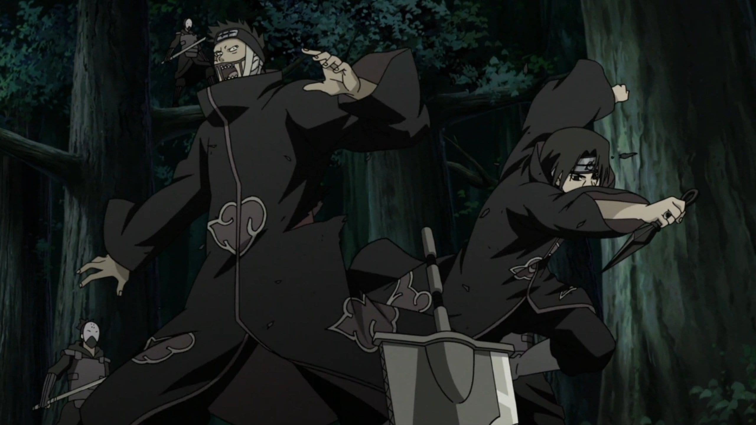 Naruto Shippūden Season 20 :Episode 456  Itachi's Story - Light and Darkness: The Darkness of the Akatsuki