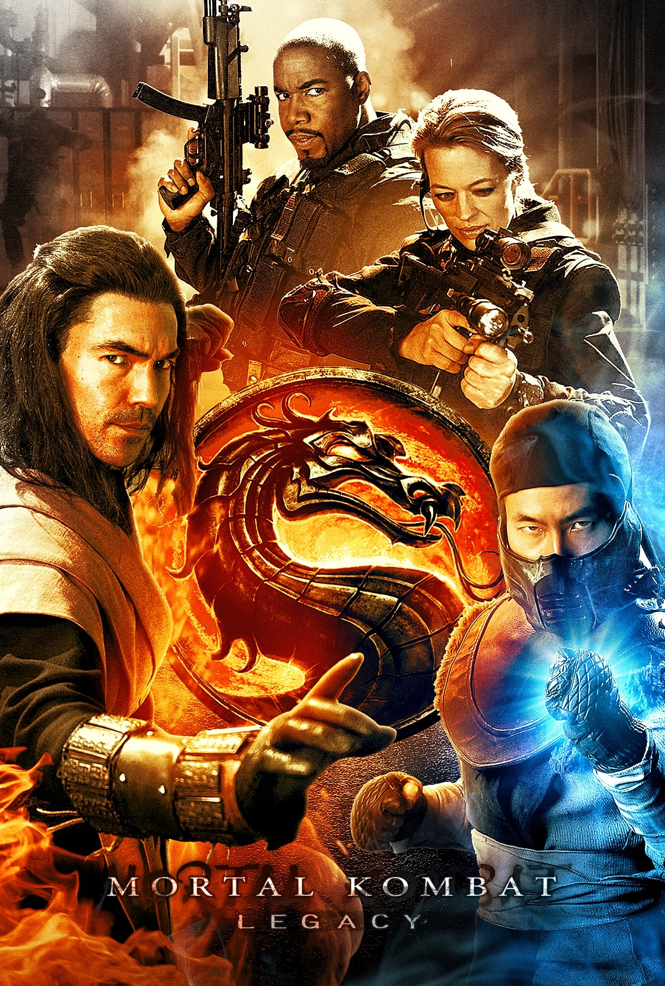 Mortal Kombat Legacy German