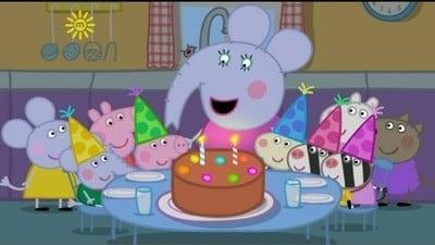 Peppa Pig Season 3 :Episode 49  Edmond Elephant's Birthday