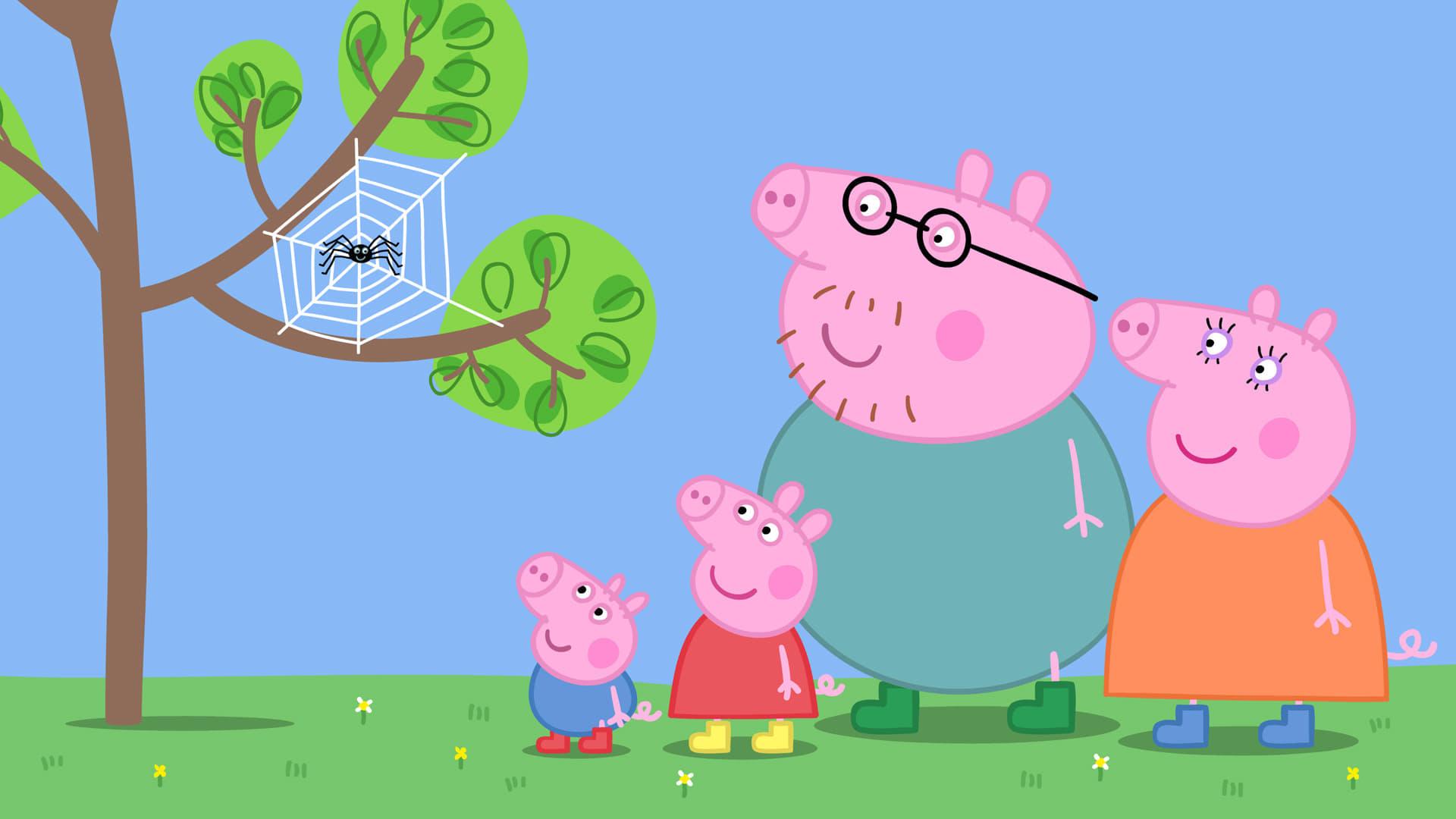 Peppa Pig Season 4 :Episode 22  Spider Web