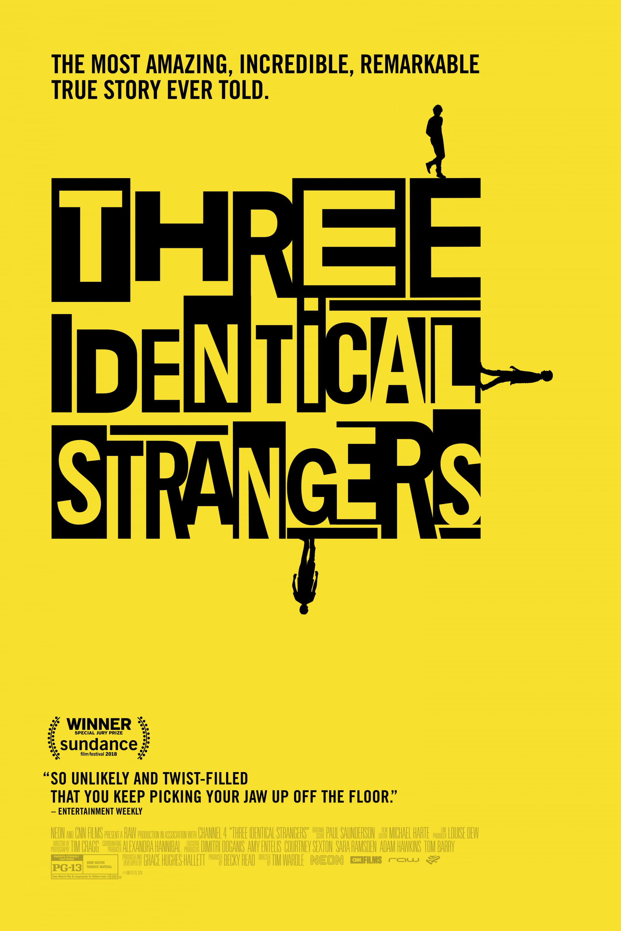 Poster and image movie Film Three Identical Strangers - Three Identical Strangers 2018