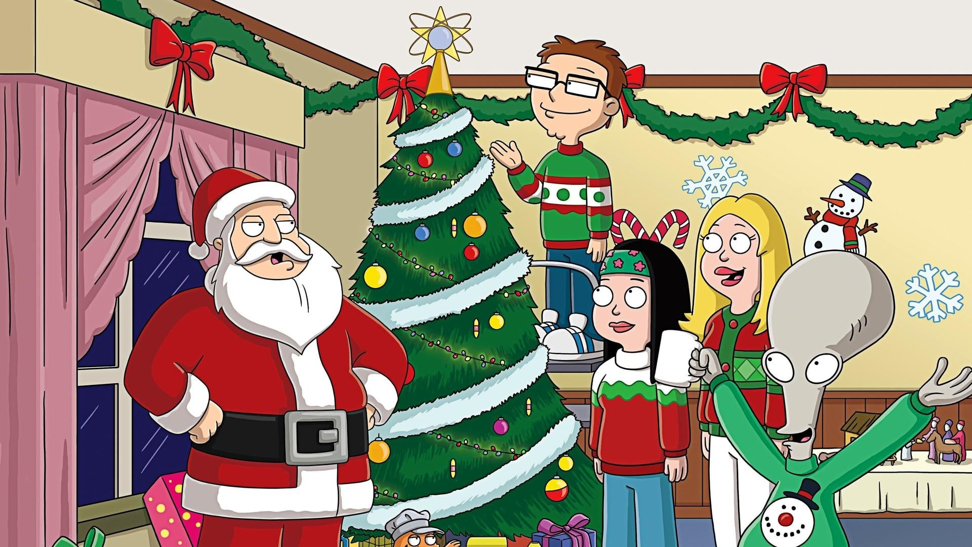 American Dad! Season 4 :Episode 8  The Most Adequate Christmas Ever