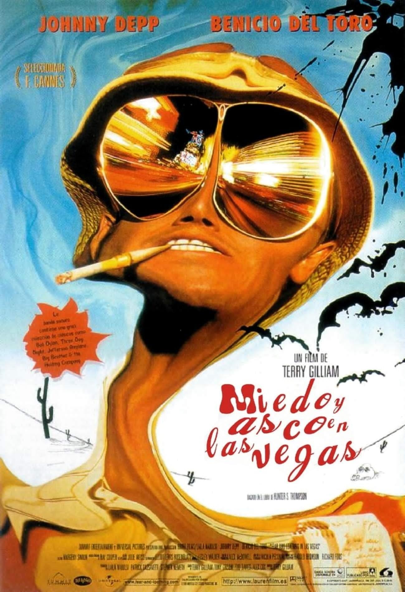 Ver Miedo y asco en Las Vegas Online HD Español (1998)