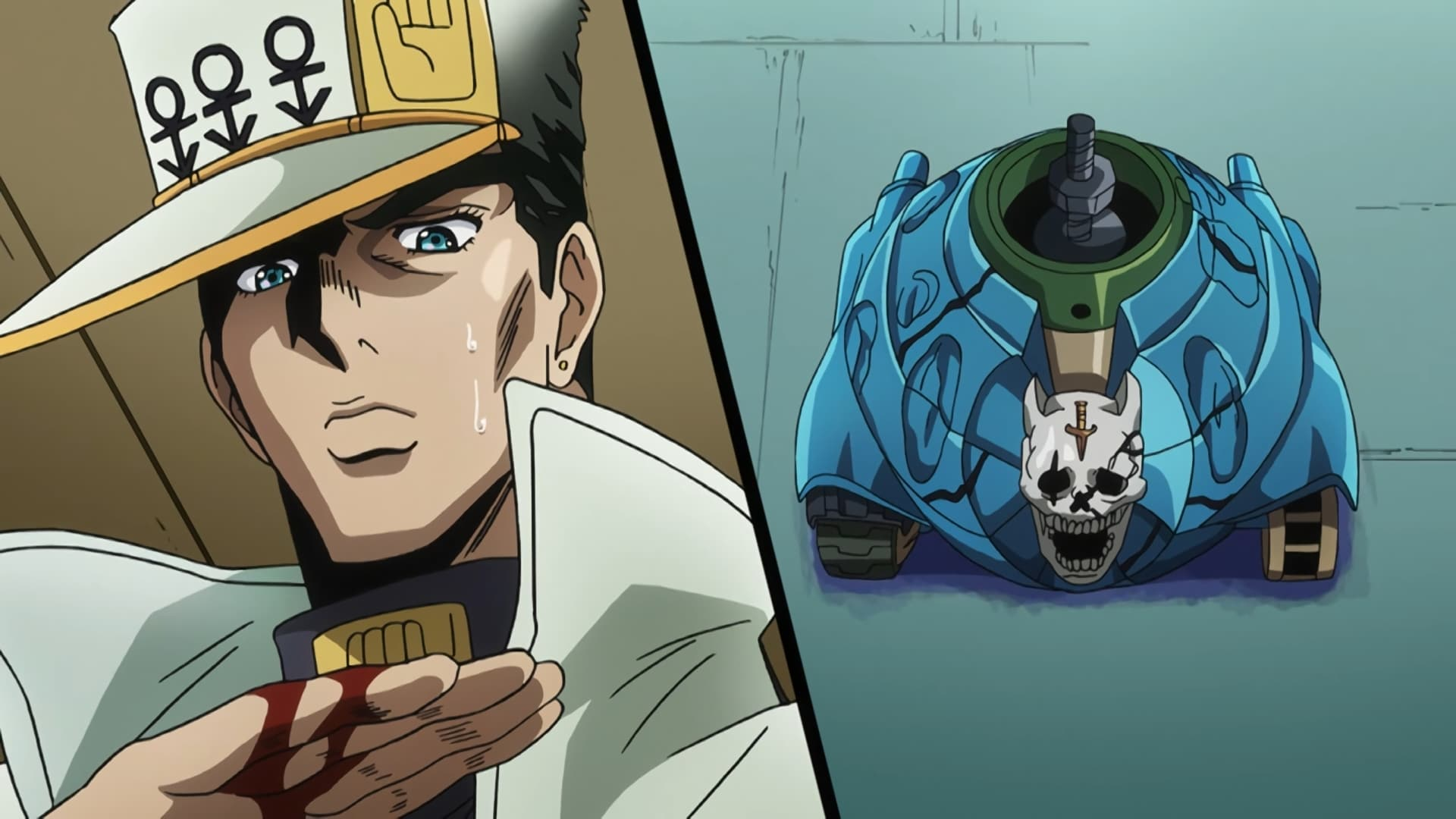 JoJo's Bizarre Adventure Season 3 :Episode 23  Sheer Heart Attack, Part 1