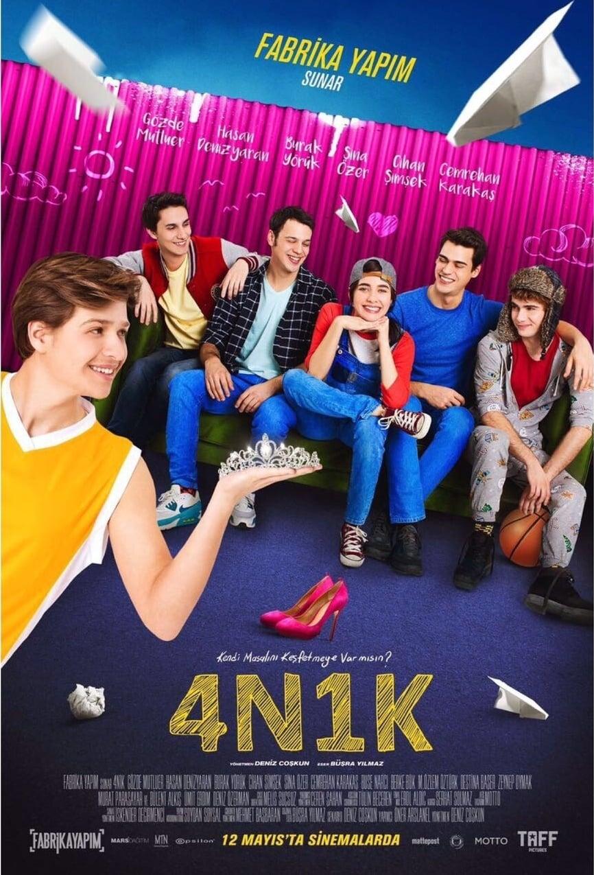 Poster and image movie Film 4N1K - 4N1K - 4N1K -  2017