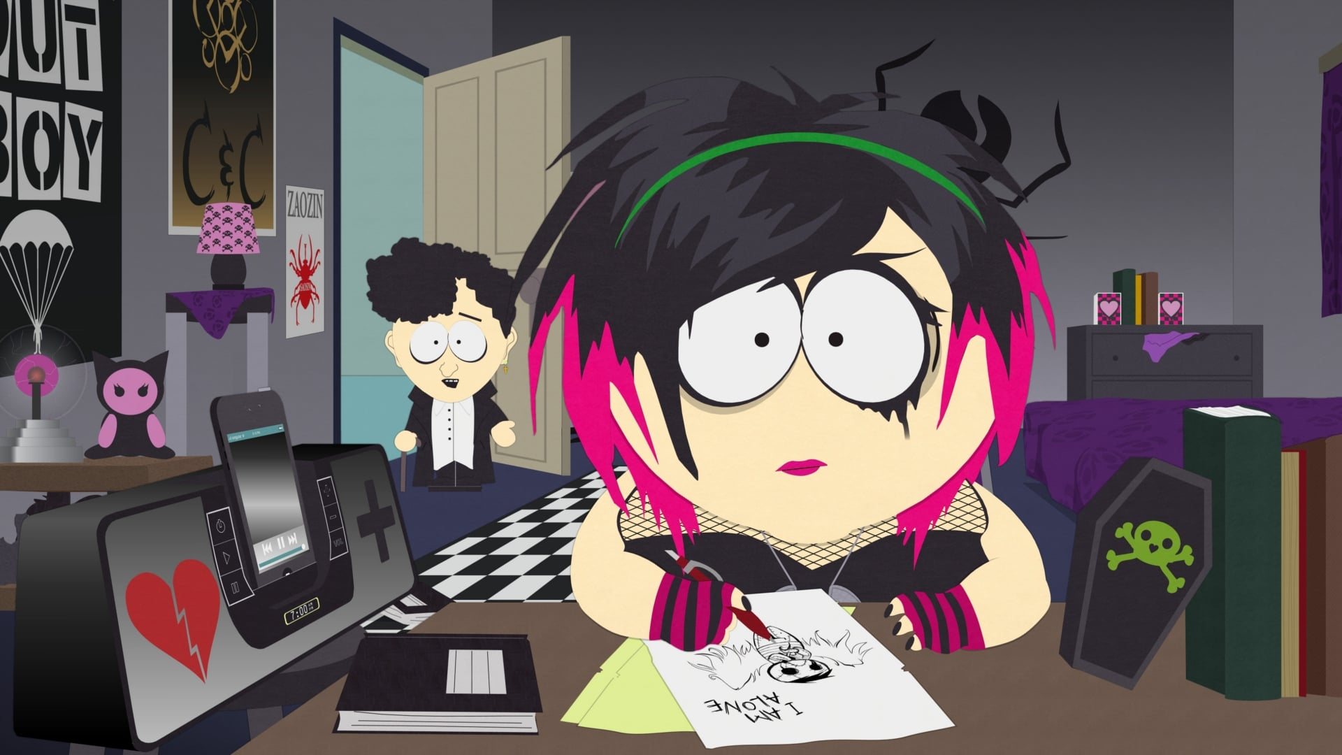 South Park - Season 17 Episode 4 : Goth Kids 3: Dawn of the Posers