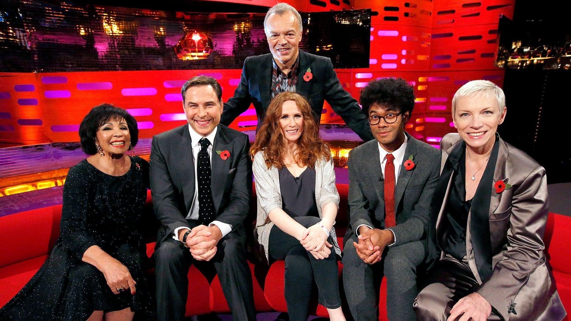 The Graham Norton Show Season 16 :Episode 7  Dame Shirley Bassey, David Walliams, Catherine Tate, Richard Ayoade, Annie Lennox