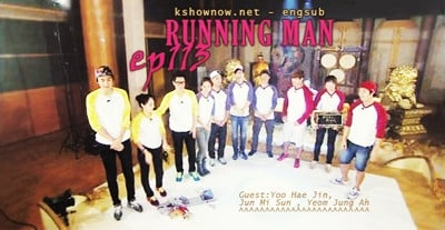 Running Man Season 1 :Episode 113  Absolute Ddak Ji