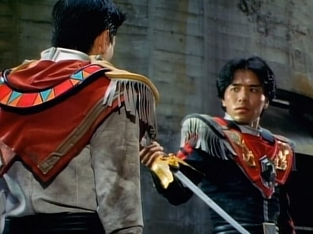 Super Sentai Season 22 :Episode 26  Brothers in Flame
