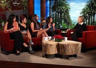 The Ellen DeGeneres Show Season 9 :Episode 71  The 'Jersey Shore' Girls