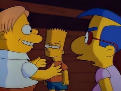 The Simpsons Season 2 :Episode 21  Three Men and a Comic Book