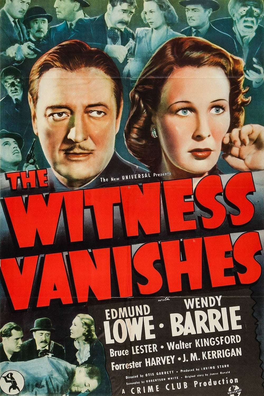 The Witness Vanishes (1939)