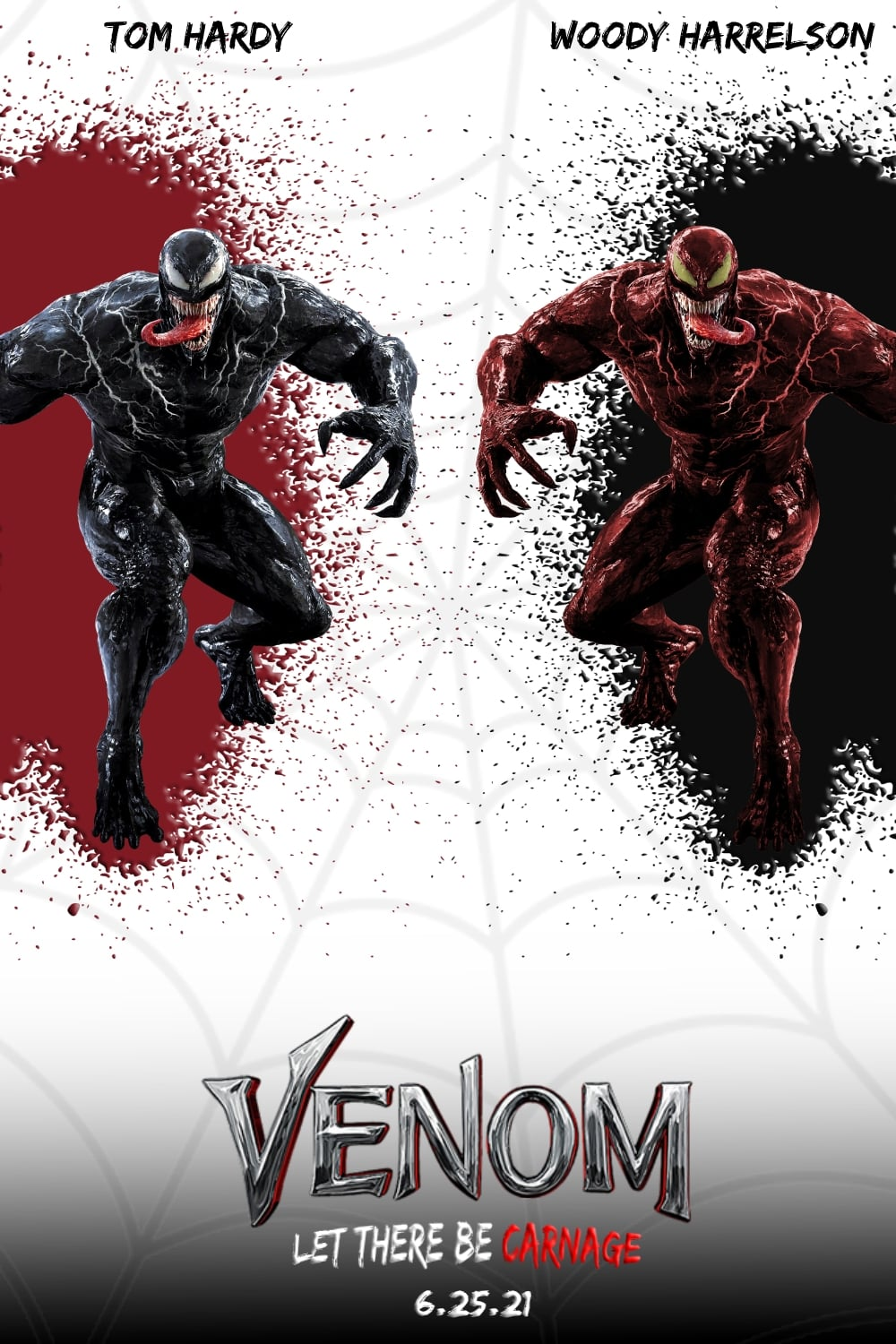 Venom: Let There Be Carnage (2021) - Posters — The Movie ...