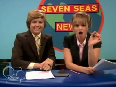 The Suite Life on Deck Season 2 :Episode 26  Seven Seas News