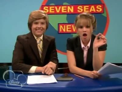 The Suite Life on Deck Season 2 :Episode 26  Seven Seas News