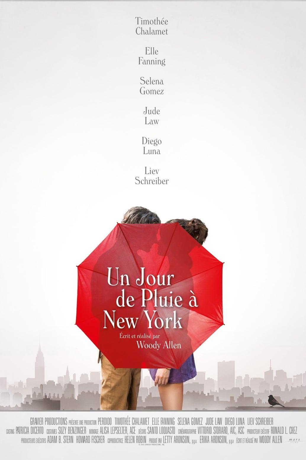 Un jour de pluie à New York streaming sur zone telechargement