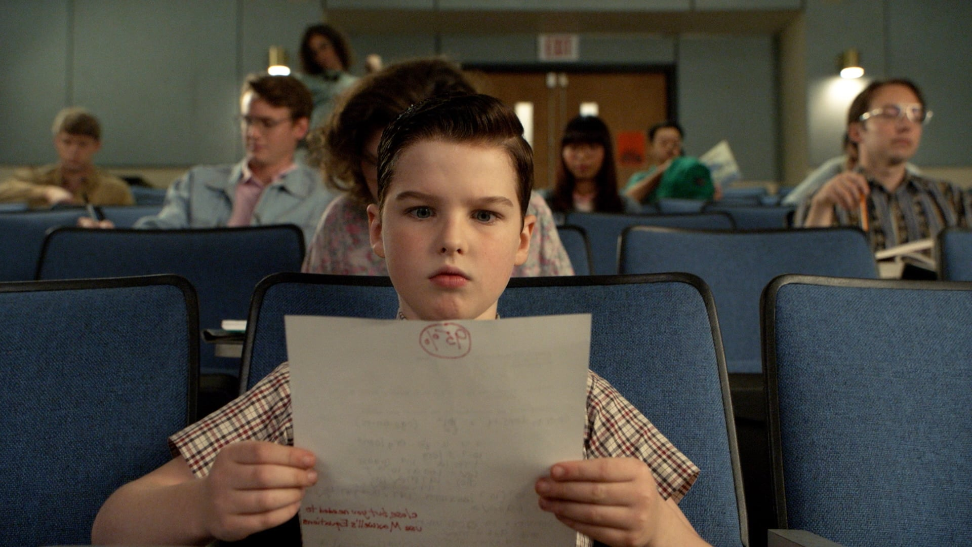 Young Sheldon - Season 2 Episode 15 : A Math Emergency and Perky Palms