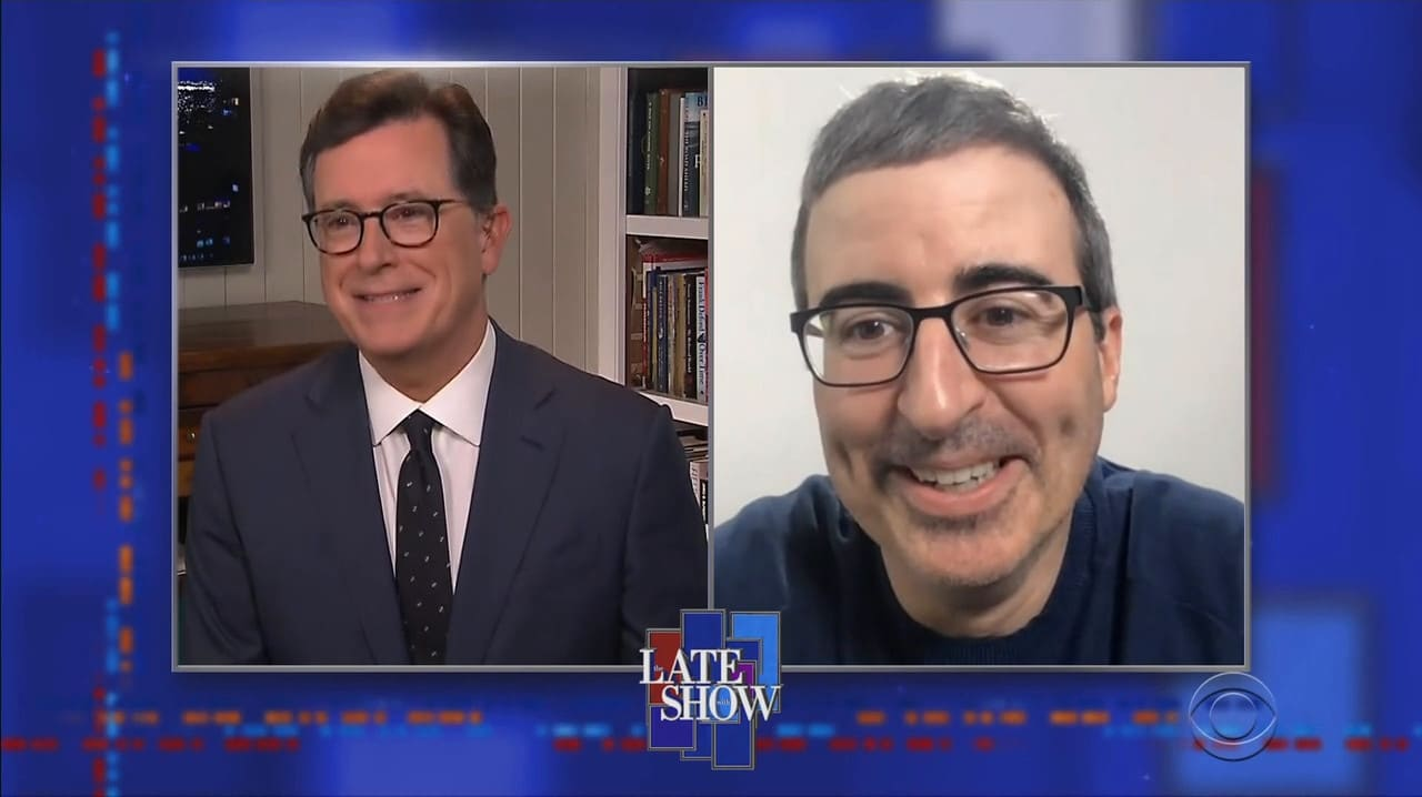 The Late Show with Stephen Colbert Season 5 :Episode 105  John Oliver