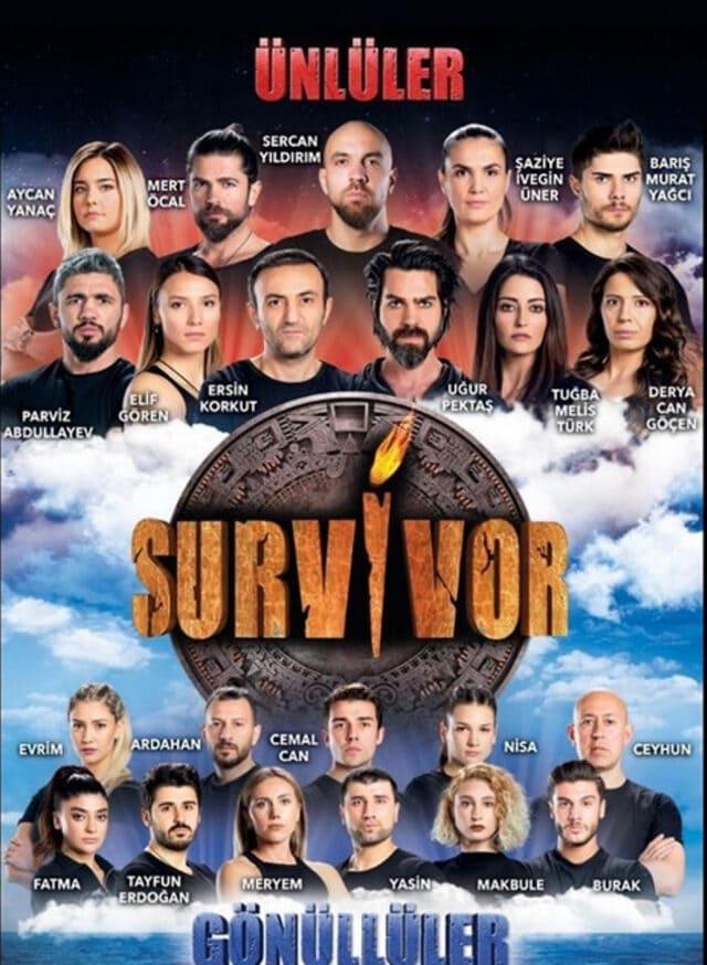Survivor 2020 Unluler Gonulluler (2020)