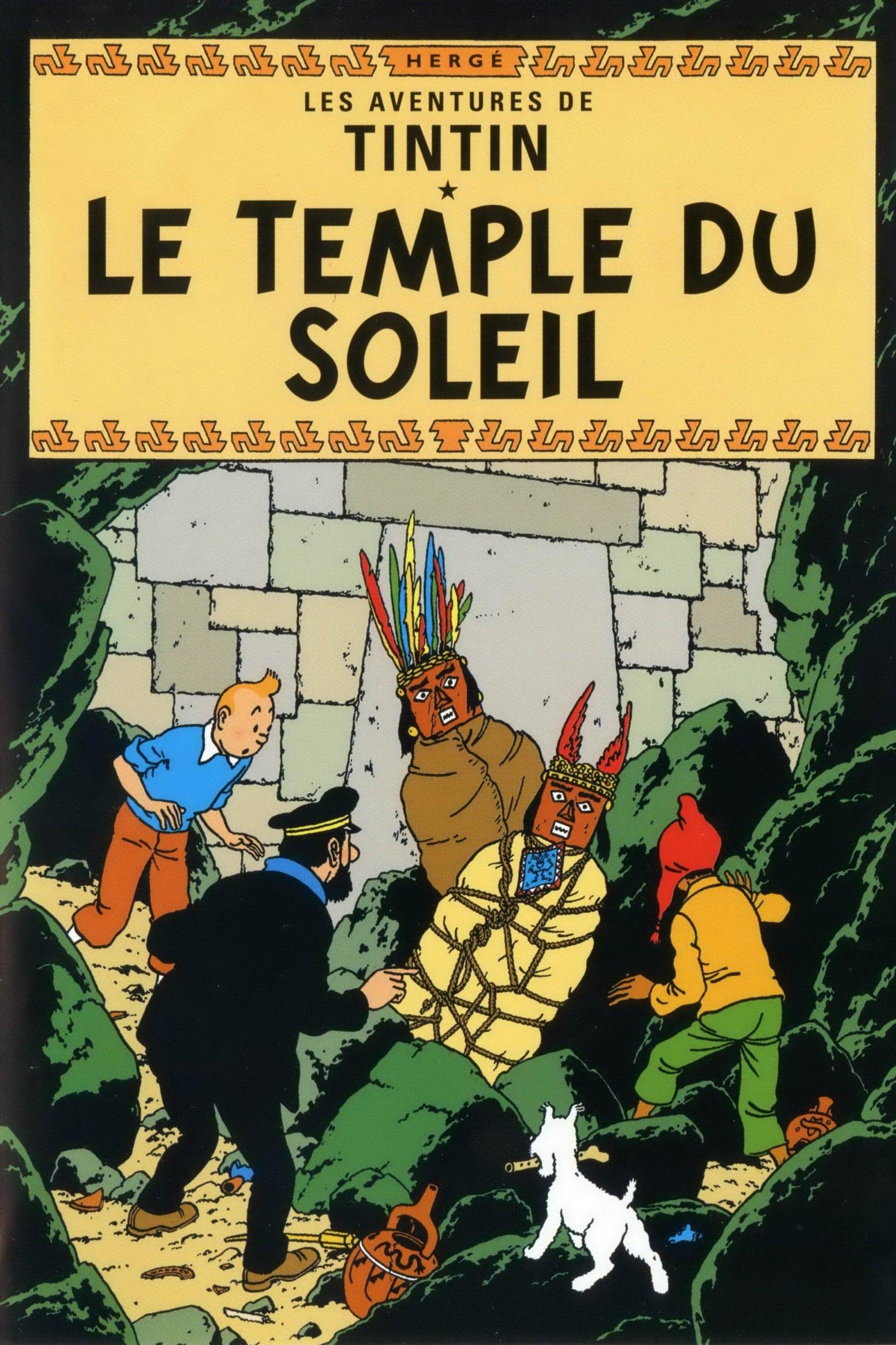 Les Aventures De Tintin 12 Le Temple Du Soleil - 1992