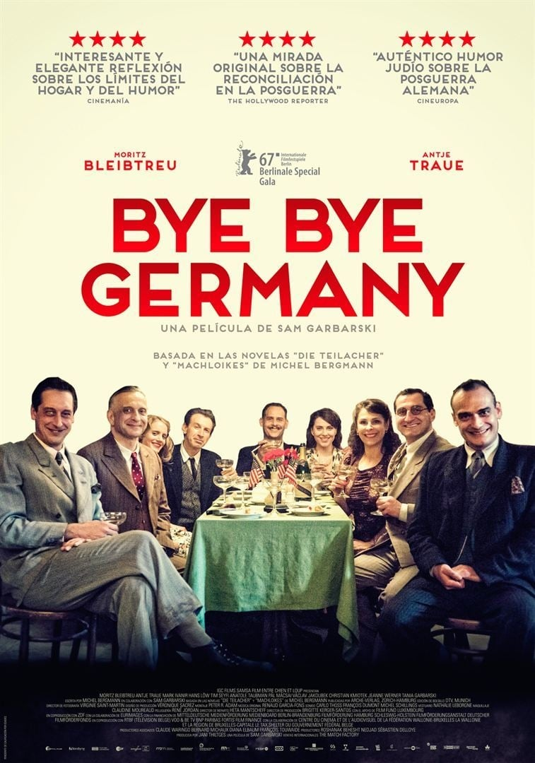 Póster Bye Bye Germany