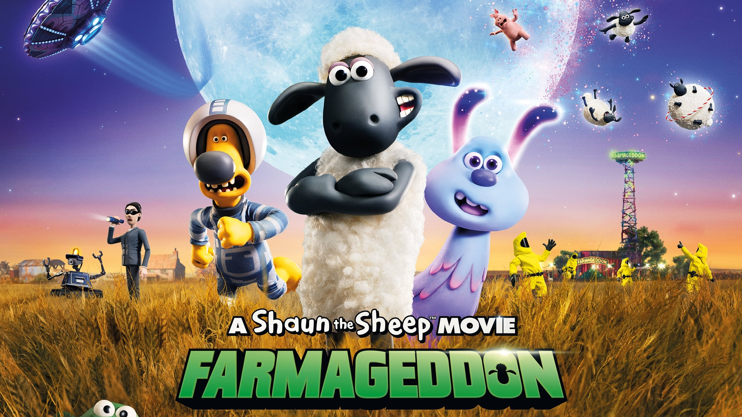 Овцата Шон – Филмът: Фермагедон
