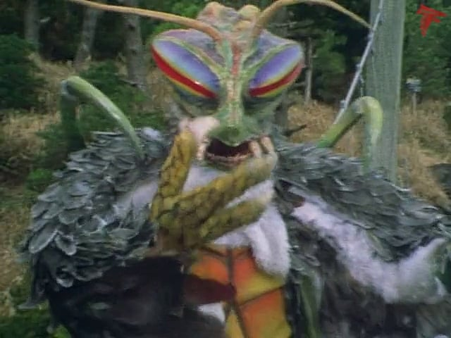 Kamen Rider Season 1 :Episode 86  Monster Eaglemantis' Human Hunt