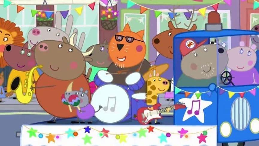 Peppa Pig Season 5 :Episode 43  The Carnival