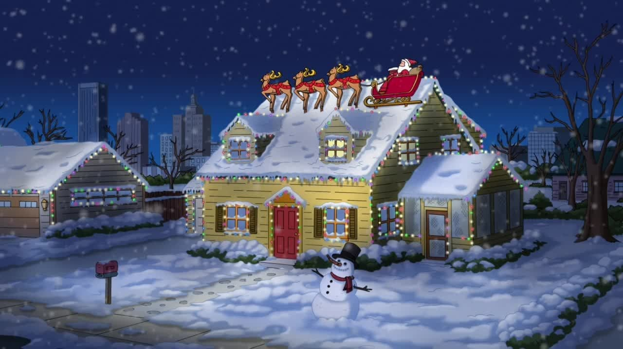 Family Guy Season 12 :Episode 8  Christmas Guy