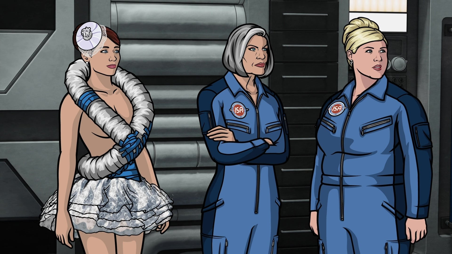 Archer Season 3 :Episode 10  Space Race (2)