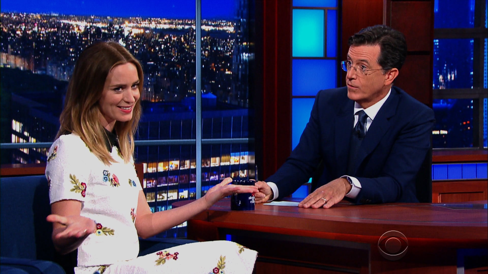 The Late Show with Stephen Colbert Season 1 :Episode 5  Emily Blunt, Justice Stephen Breyer, The Dead Weather