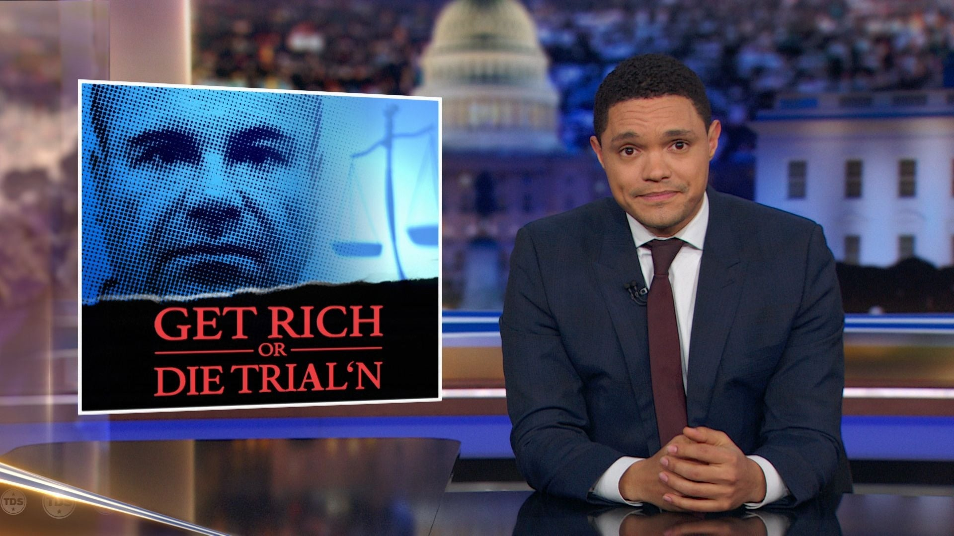 The Daily Show with Trevor Noah Season 24 :Episode 50  Chuck Todd