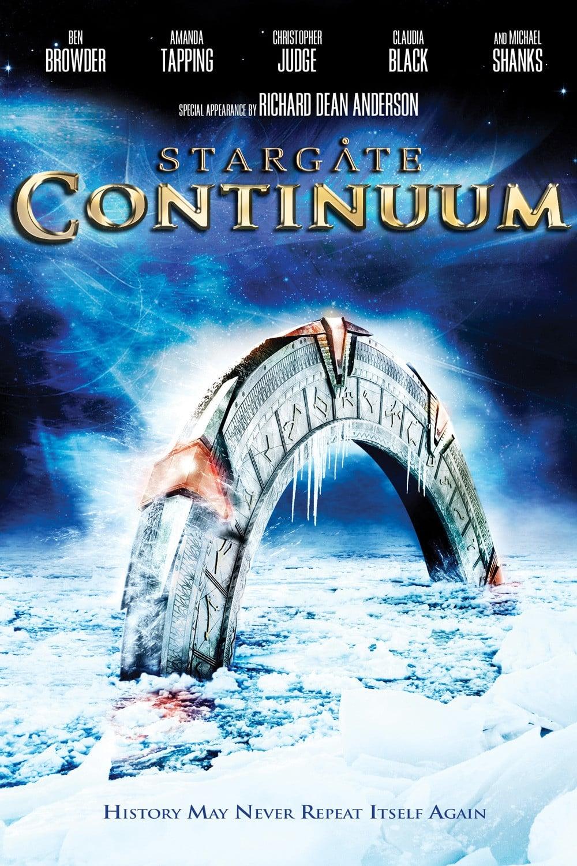 Poster and image movie Film Stargate: Salt in trecut - Poarta stelară: Continuum - Stargate: Continuum - Stargate: Continuum (2008) (V) -  2008