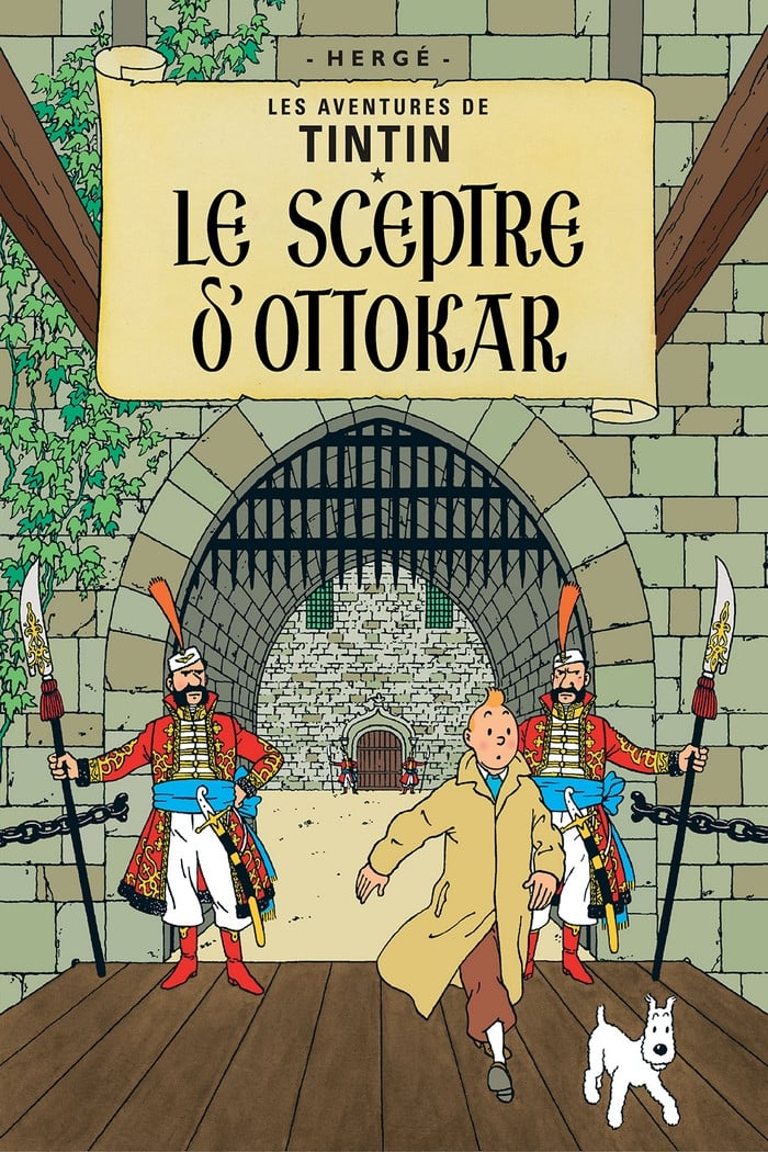 Les Aventures De Tintin 06 Le Sceptre D'Ottokar - 1992
