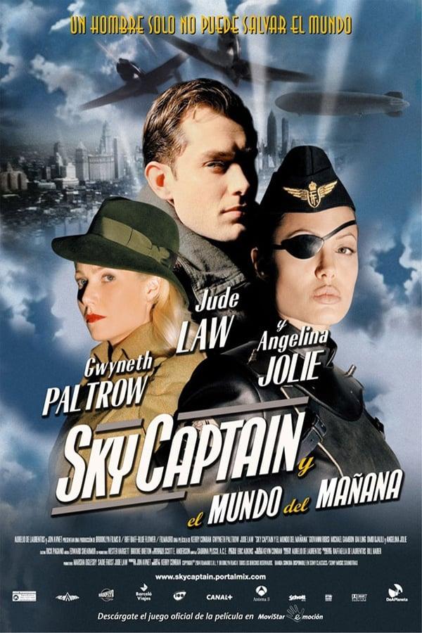 Póster Sky Captain y el mundo del ma�ana