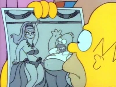 The Simpsons Season 1 :Episode 10  Homer's Night Out