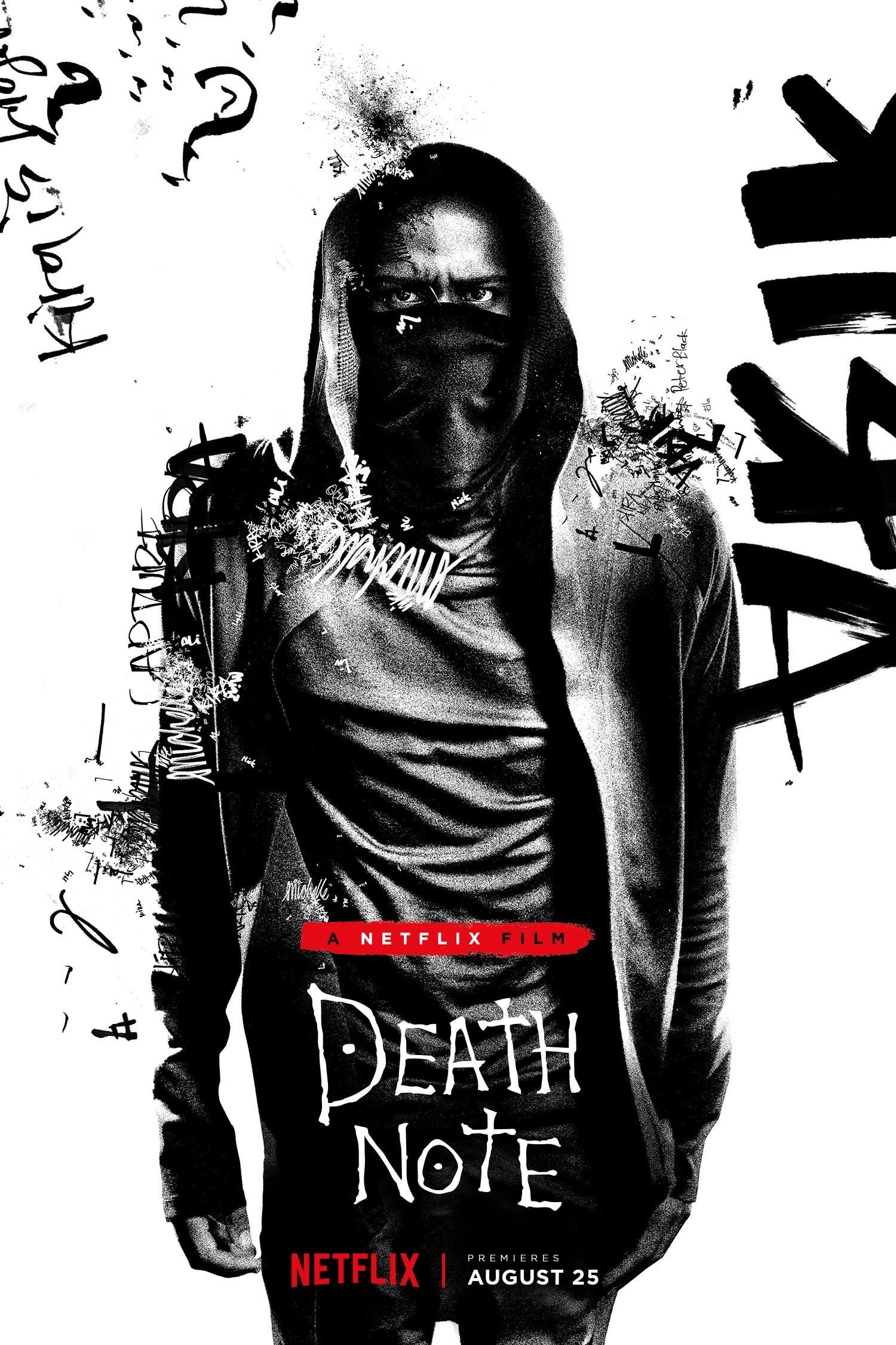 Mirties užrašai / Death Note (2017) žiūrėti online