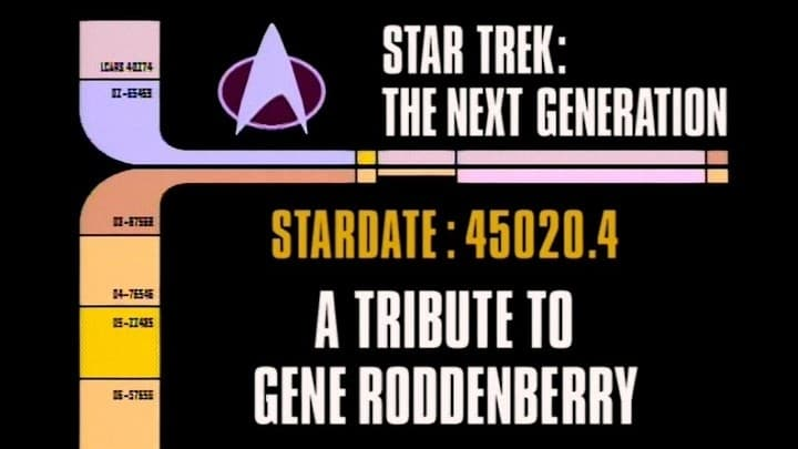 Archival Mission Log: Year Five -  A Tribute to Gene Roddenberry-Azwaad Movie Database