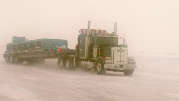 Ice Road Truckers Season 2 :Episode 3  The Big Blizzard