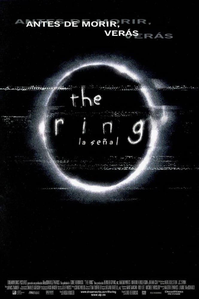 Póster The Ring (La señal)