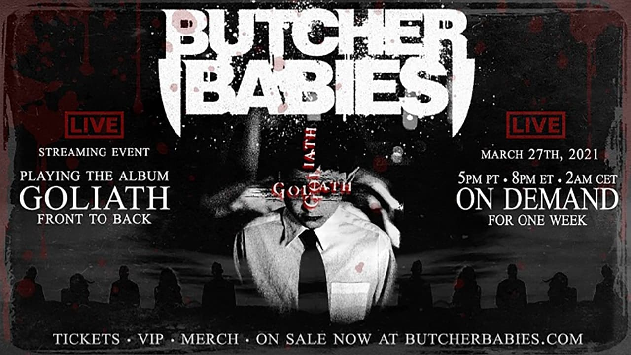 Goliath - Live Streaming Event by Butcher Babies (2021) Movie English Full Movie Watch Online