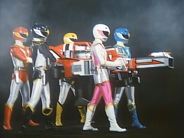 Super Sentai Season 15 :Episode 14  Love's Deadly Bazooka