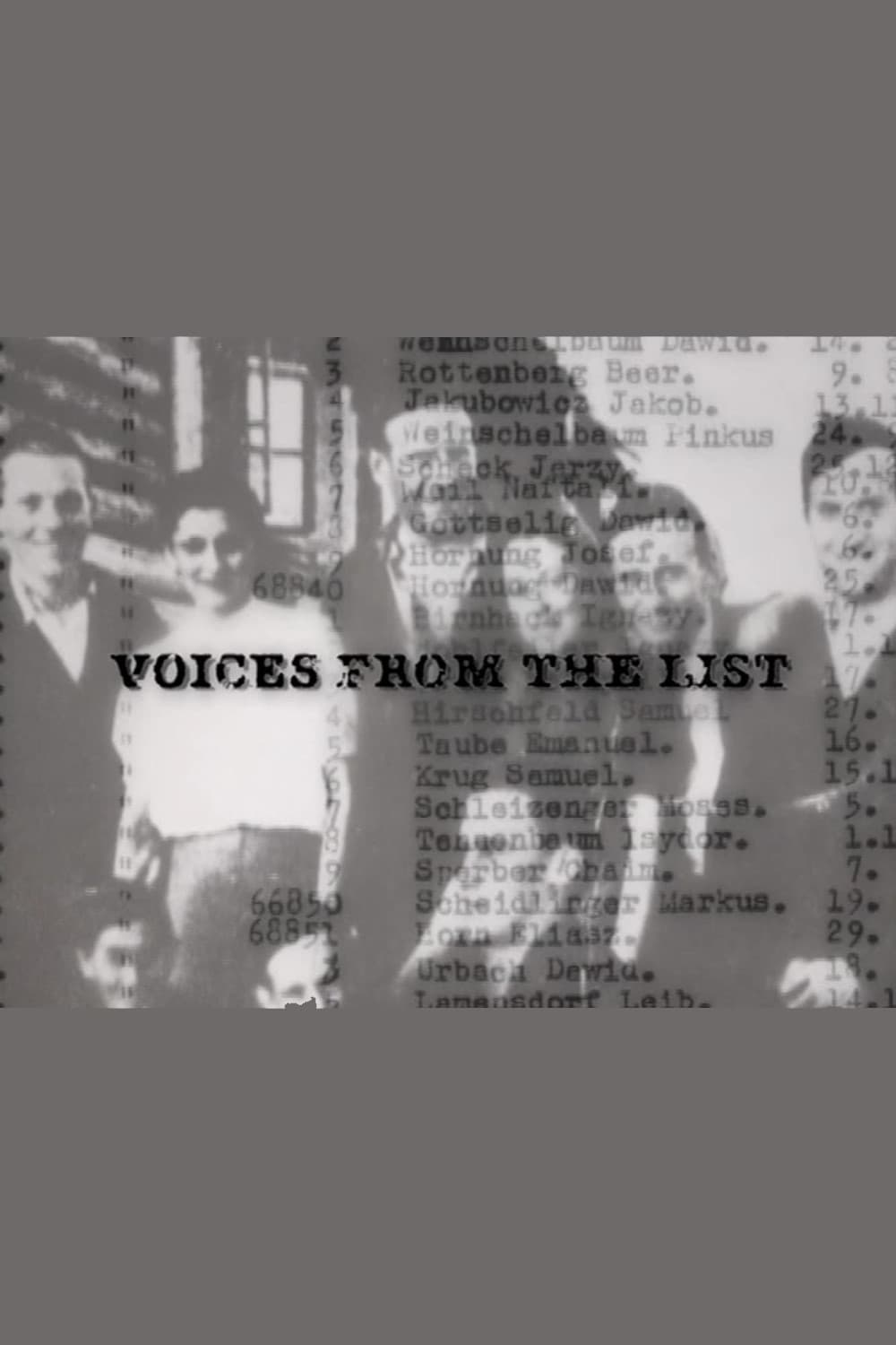 Voices from the List (2004)